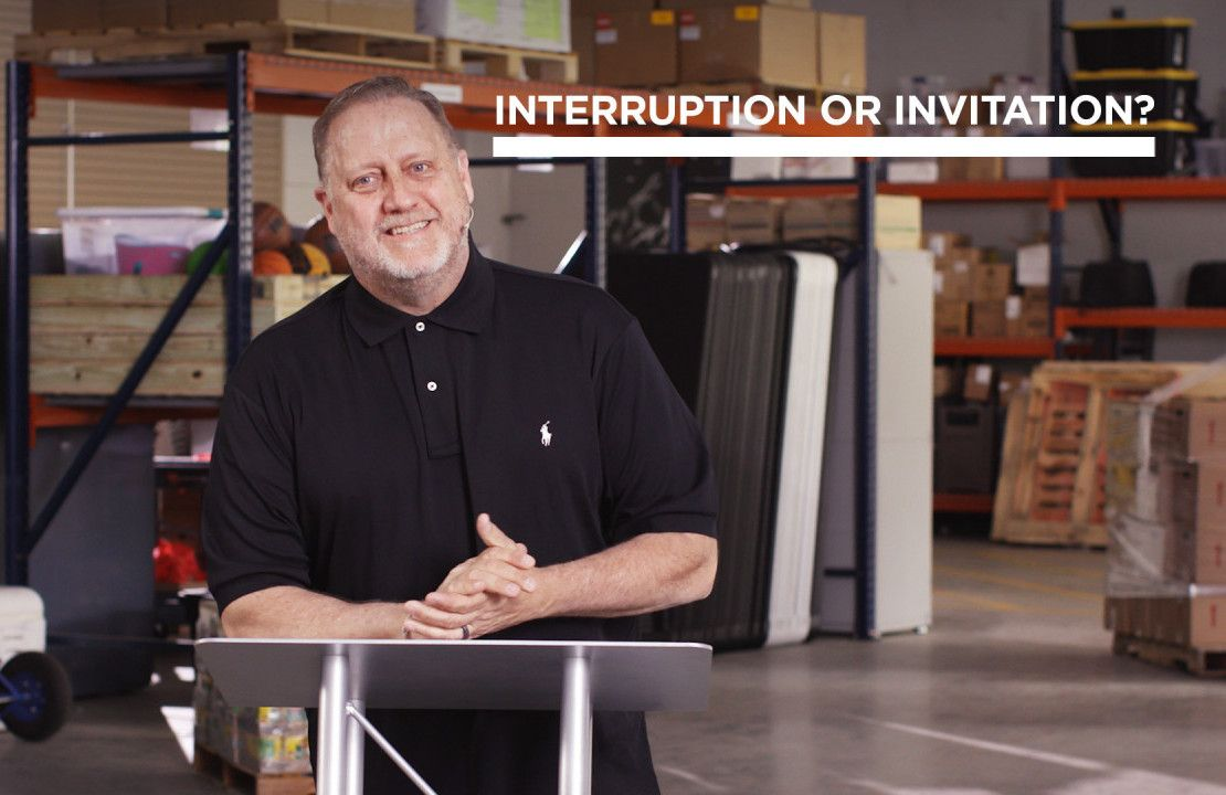 Interruption or Invitation?